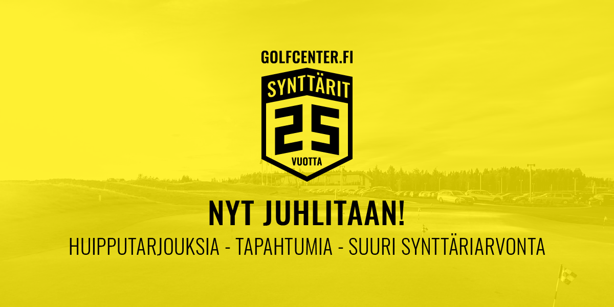 Golf Center synttärikampanja
